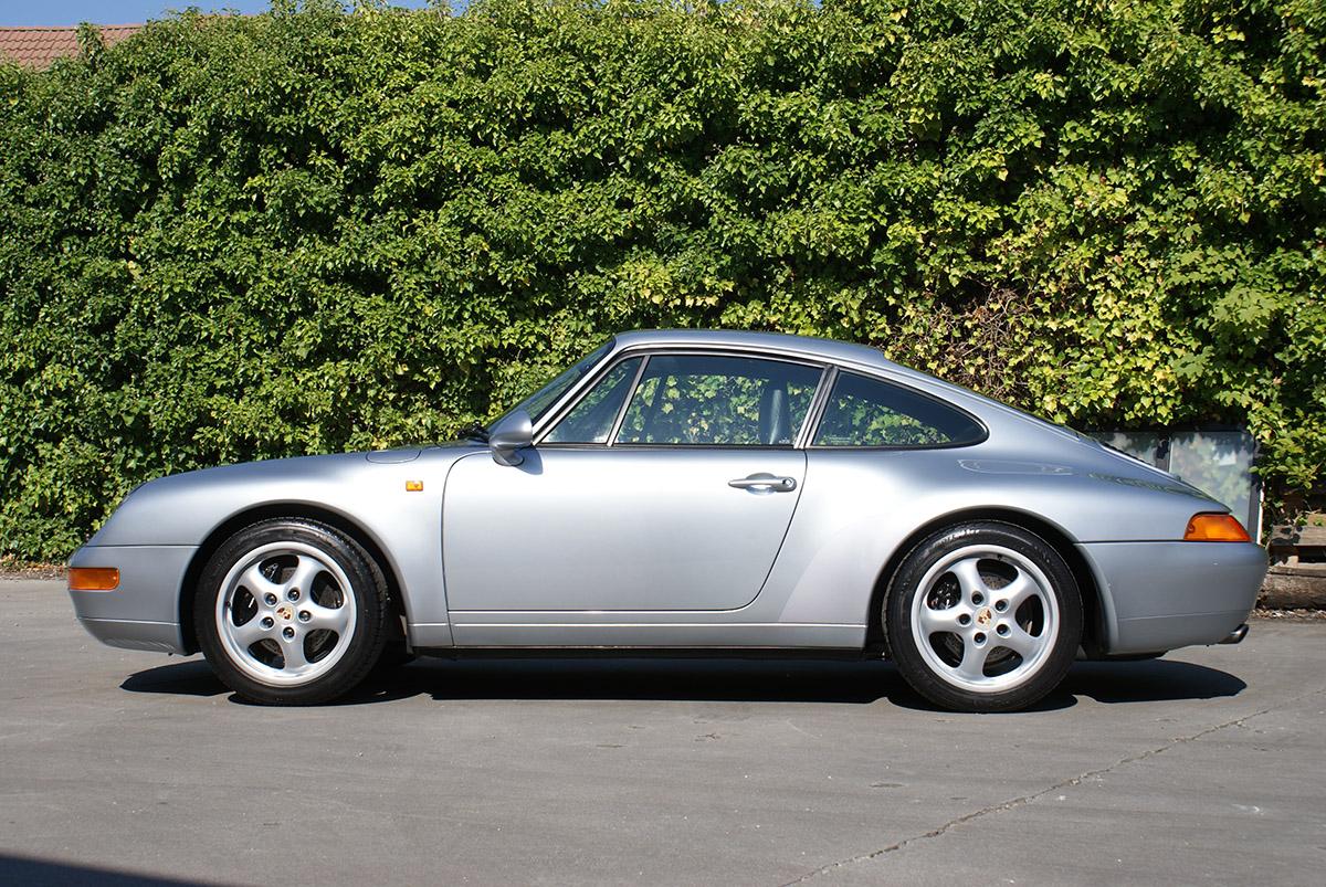 Porsche 993 Carrera 1995 Polar silver