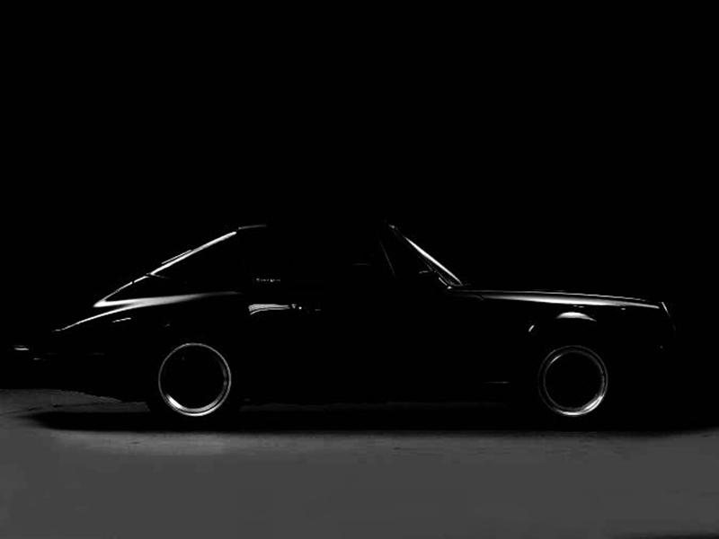 Porsche 911 Carrera targa 1988 black, Porsche in voorbereiding