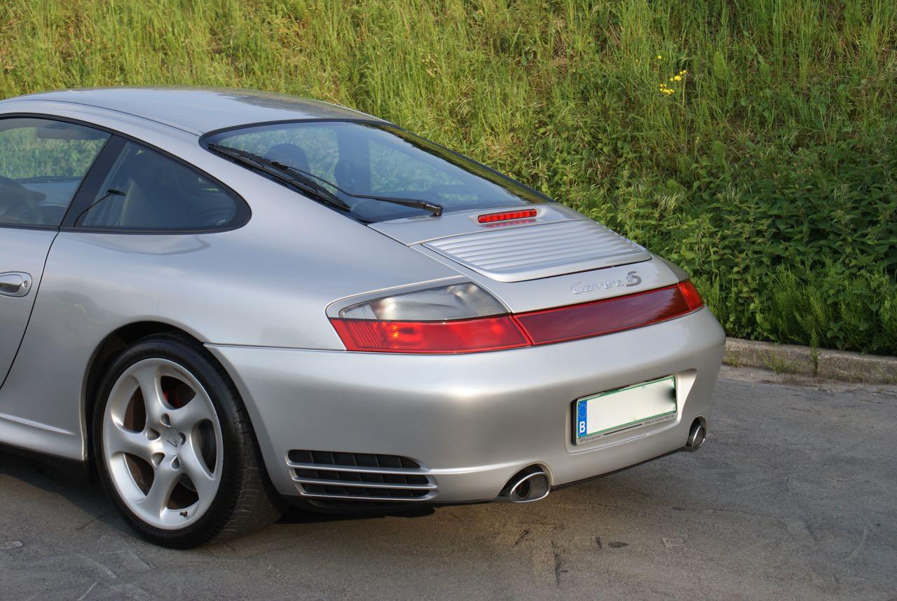 911 youngtimer Porsche 996 Carrera 4S Arctic Silver 2002 - 4 van 15