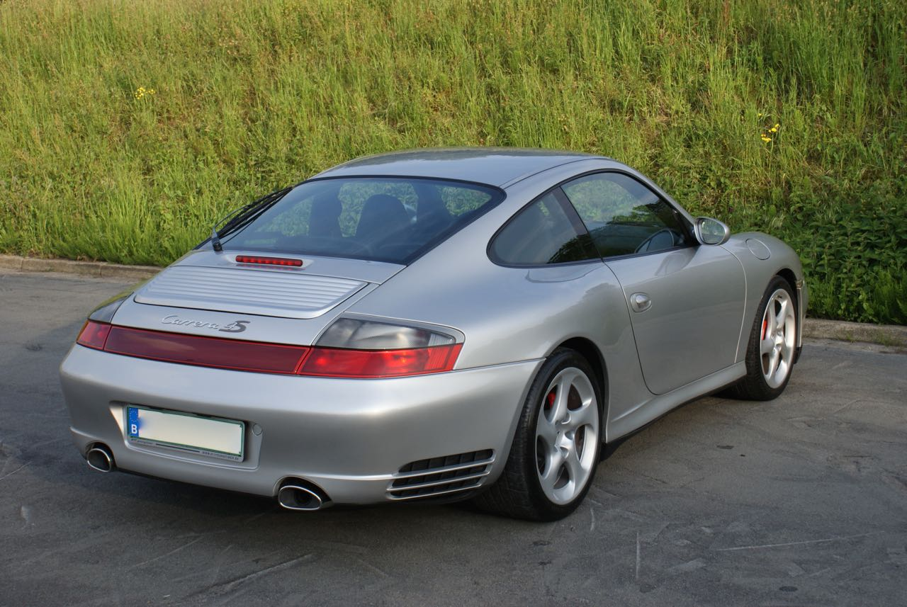 911 youngtimer Porsche 996 Carrera 4S Arctic Silver 2002 - 7 van 15