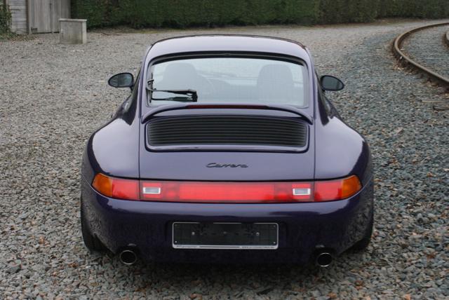 911 youngtimer - Porsche 993 Carrera - Amarant Violet - 1994 - 10 of 15