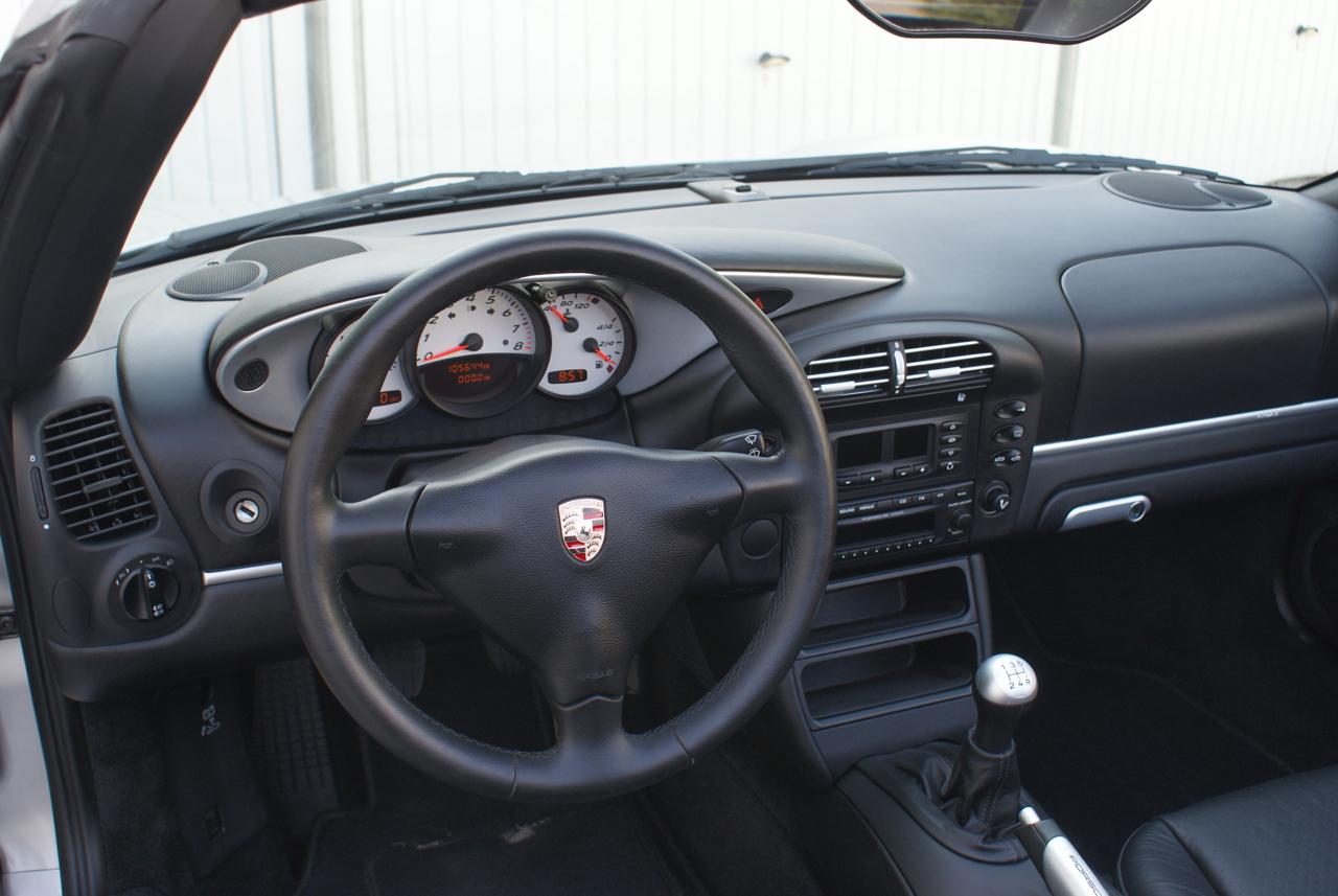 911 youngtimer - Porsche 986 Boxter 2,7L - Arctic Silver - 2003 - 4 of 6