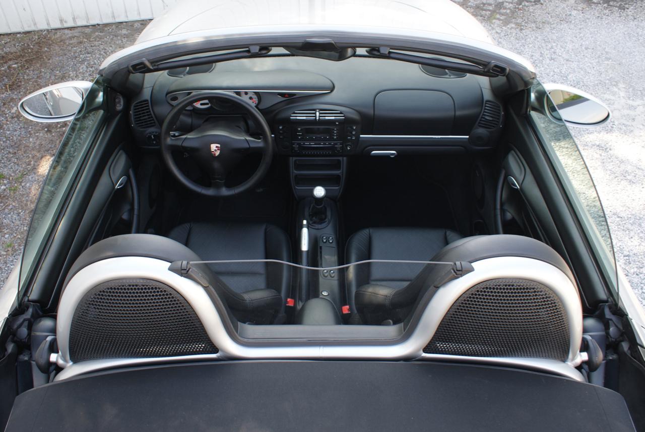 911 youngtimer - Porsche 986 Boxter 2,7L - Arctic Silver - 2003 - 5 of 6