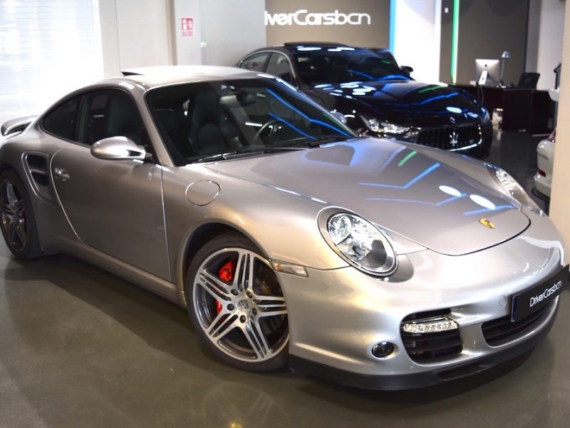 911 youngtimer - Porsche 997 turbo tiptronic GT Silver - 2007 - 1 of 3