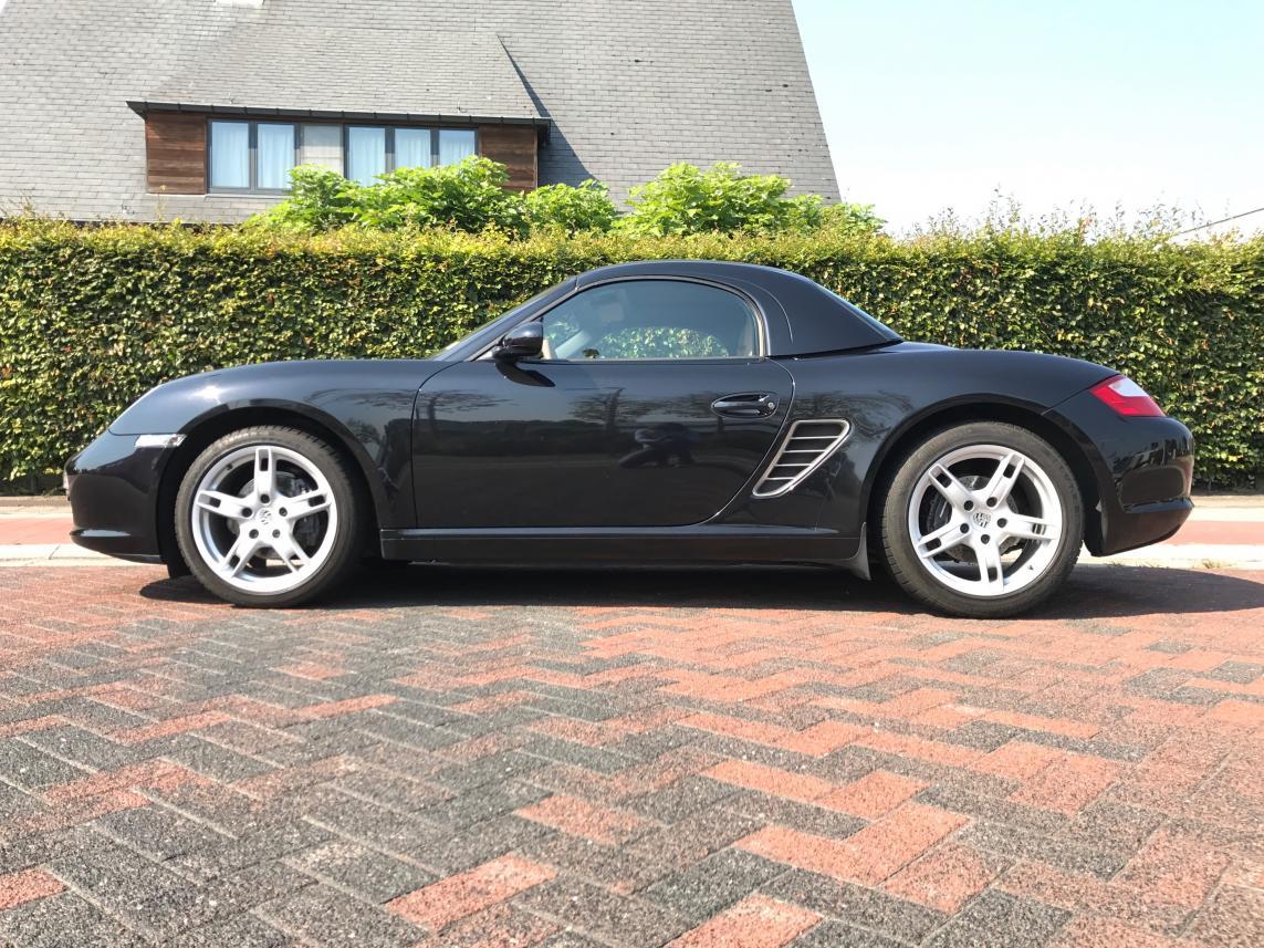 911 youngtimer - Porsche 987 Boxster - Noir - 2005 - 62.000km - 2 of 3