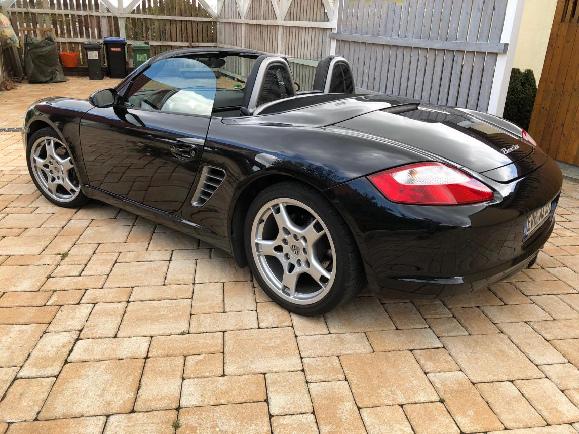 911 youngtimer - Porsche 987 Boxster - Basalt Black - 2007 - 1 of 2