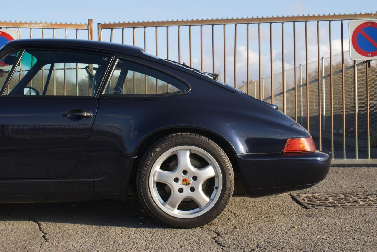 911 youngtimer - Porsche 964 Carrera 2 - Midnight Blue - 1991 - 4 of 15