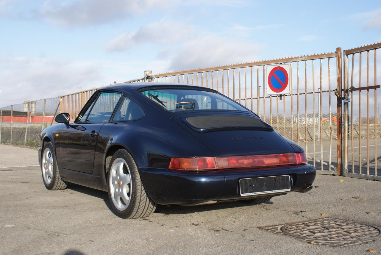 911 youngtimer - Porsche 964 Carrera 2 - Midnight Blue - 1991 - 6 of 15